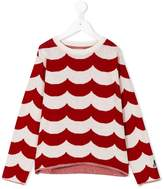 Bobo Choses Sailor knitted jumper