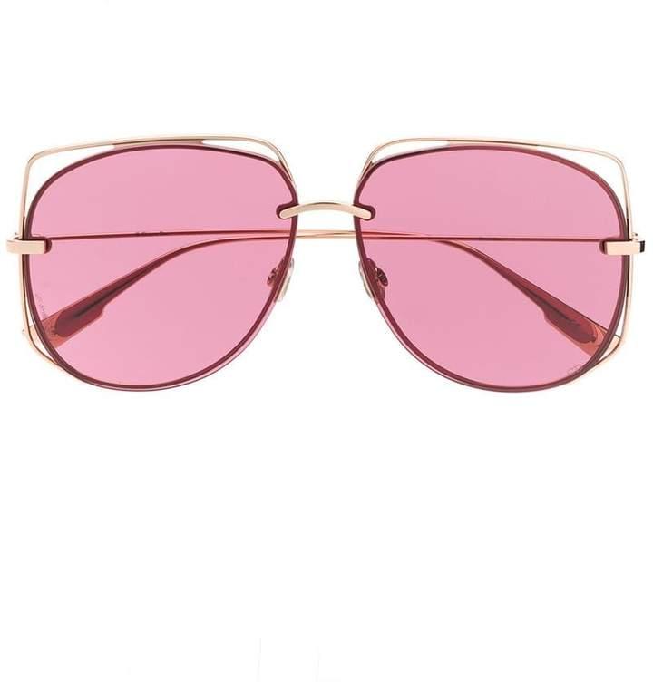 Dior Eyewear oversized round frame sunglasses