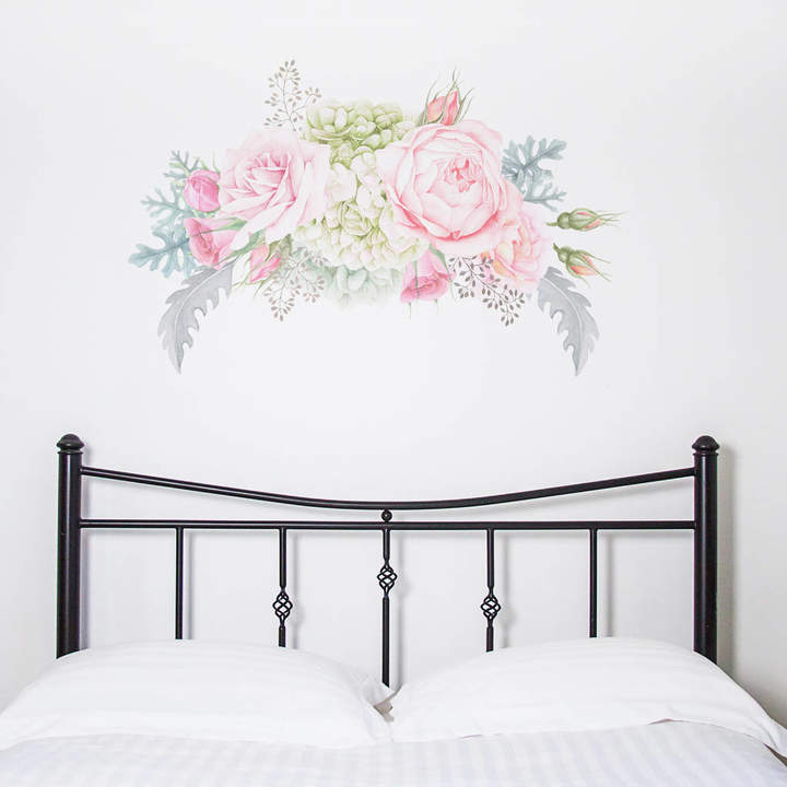 Nutmeg Wall Stickers Pastel Florals Wall Sticker