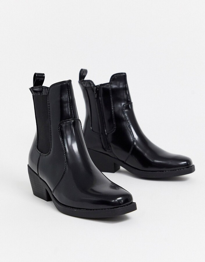 Rubi square toe western boots