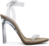 Yeezy Season 6 Ankle Strap PVC Heels