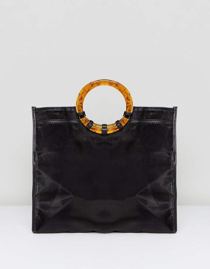 Asos Design ASOS DESIGN organza shopper bag