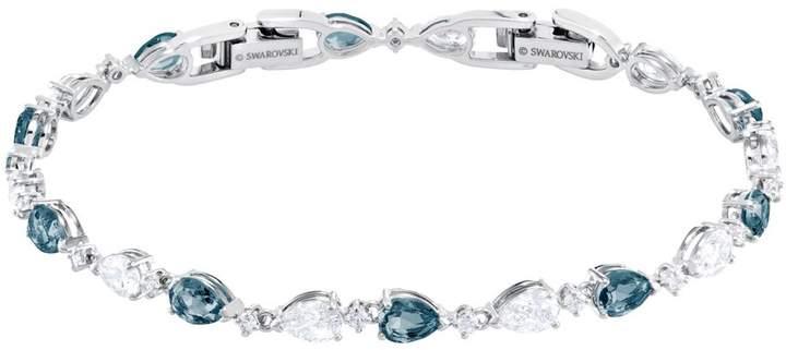 Swarovski Pear Montana Crystal Bracelet