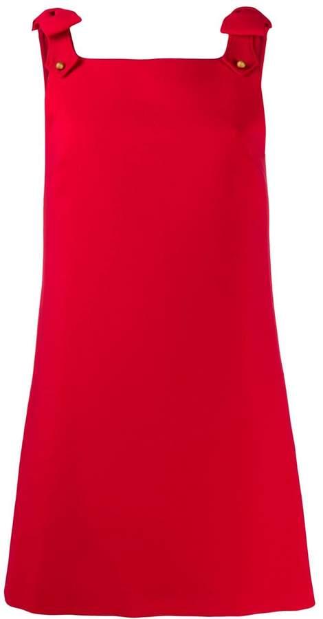 Miu Miu shift short pinafore dress