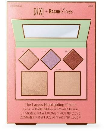 Pixi + Rachh Loves - Layers Highlighter Palette - 0.58oz