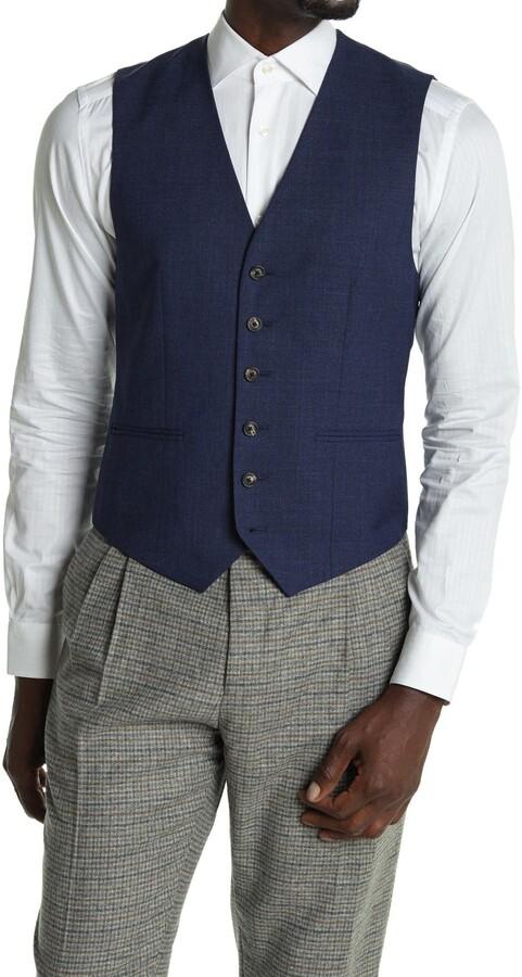 Reiss Rover Slim Fit Mixer Waistcoat Vest