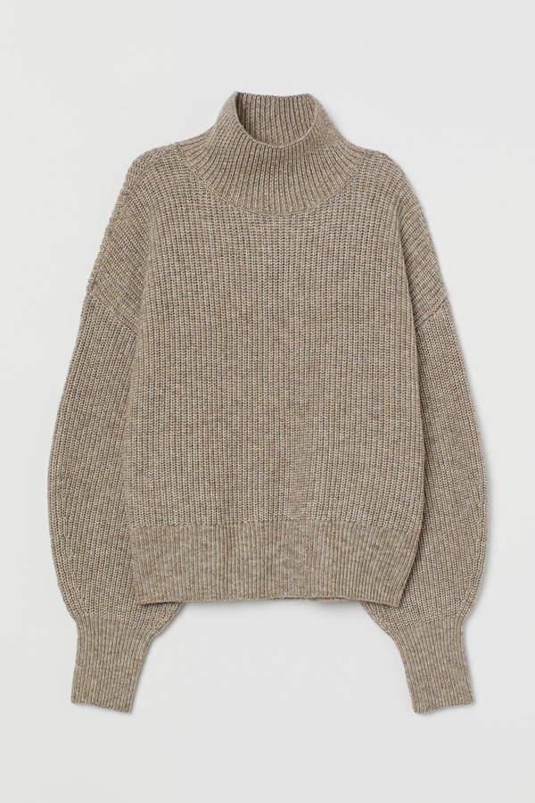 H&M Balloon-sleeved jumper