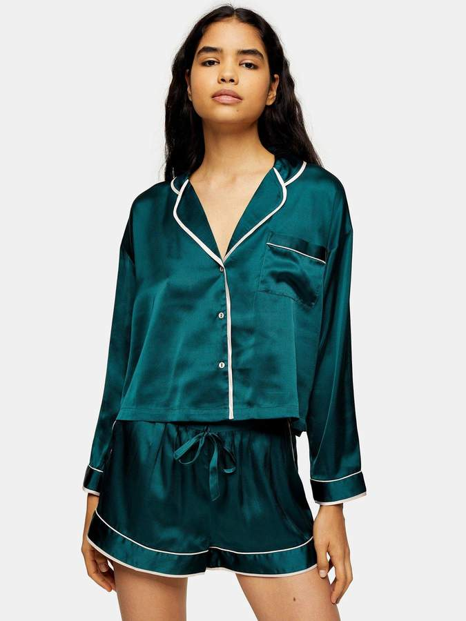 Topshop Pyjama Set - Green