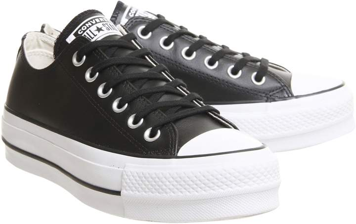 Womens **Converse All Star Lift Trainers By Office - Grey