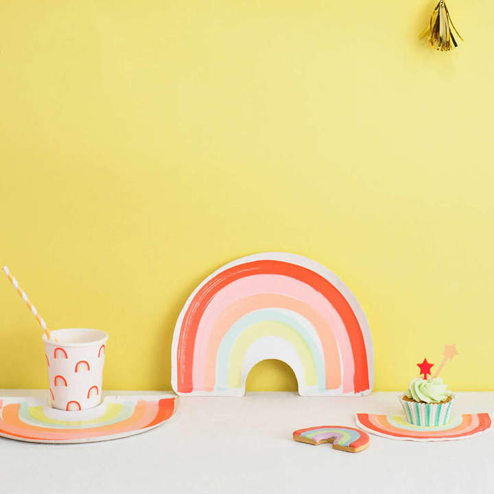 Little Baby Company Rainbow Party Set For 12