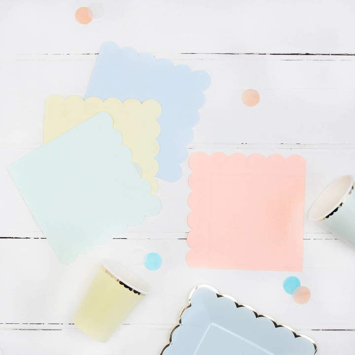 Postbox Party Pastel Party Napkins