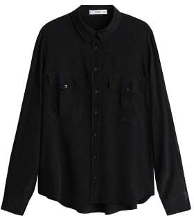 Pockets flowy shirt