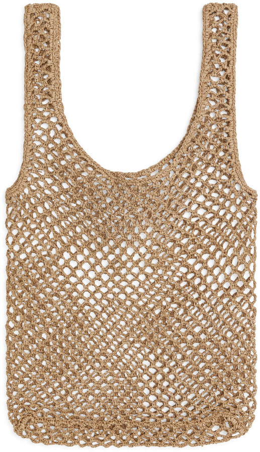 Arket Crochet Shopper