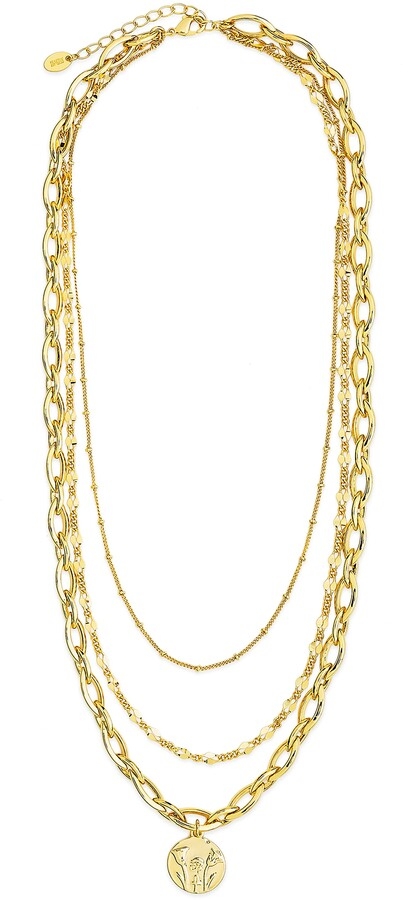 Sterling Forever - gold layered necklace