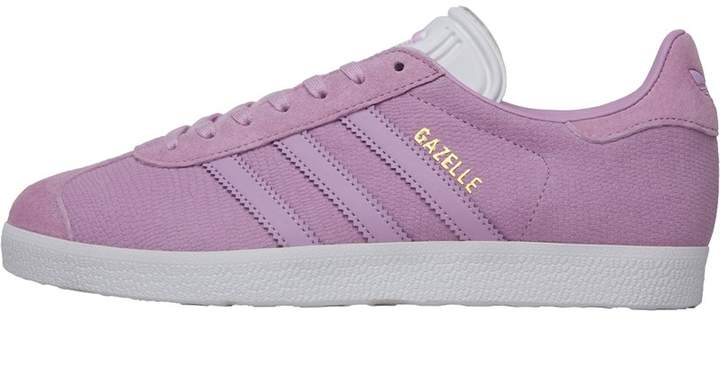 adidas Originals Womens Gazelle Trainers Clear Lilac/Clear Lilac/Footwear White
