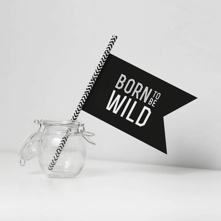 oso twee 'Born To Be Wild' Paper Flag