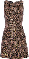 Alice + Olivia Alice + Olivia Whela embellished cotton mini dress