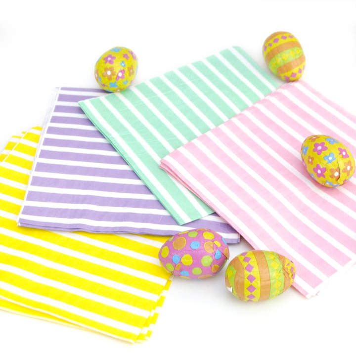 Peach Blossom Easter Table Party Napkins