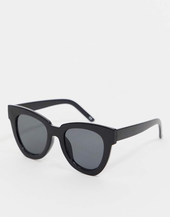 Asos Design ASOS DESIGN chunky flare cat eye sunglasses