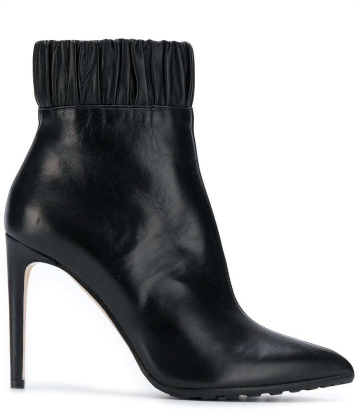 Chloe Gosselin ruched ankle boots