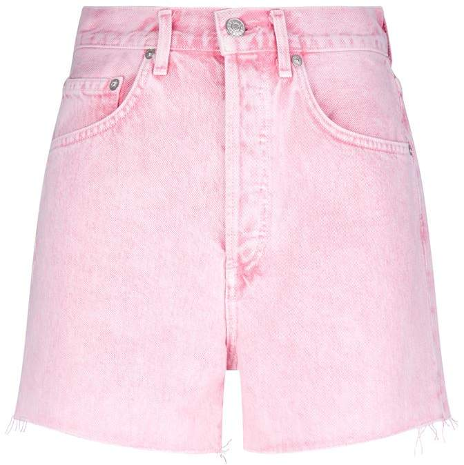 Agolde Dee Ultra High-Rise Denim Shorts