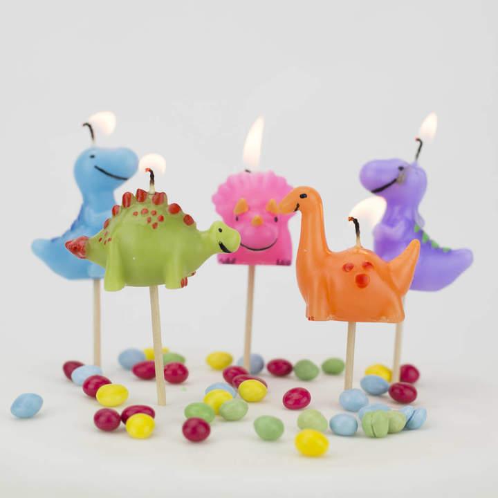 We Love To Create Dinosaur Birthday Cake Candles