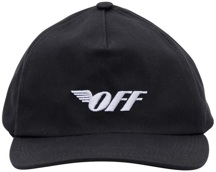 off white winged logo