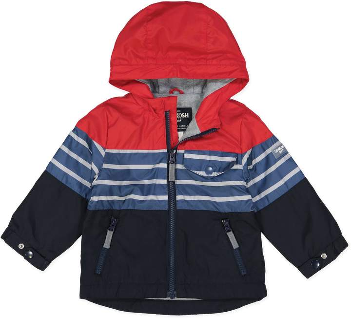 Oshkosh B'Gosh OshKosh B'gosh& Colorblock Jacket in Red/Navy