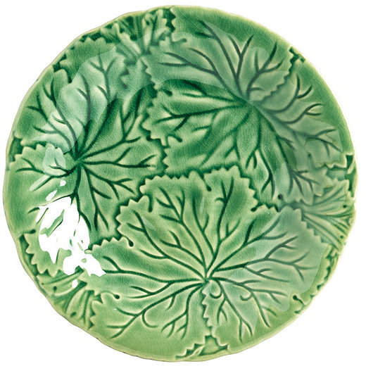 Bunny Williams Leaf Accent Plate - Set of 4