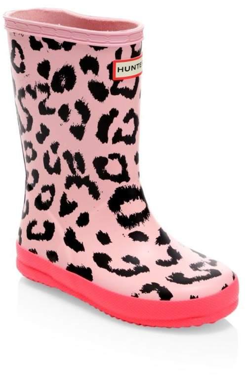Hunter Kid's Rubber Rain Boots