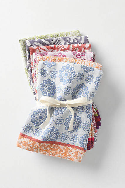 Anthropologie Nifty Napkins, Set of 6