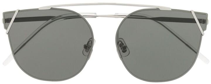 Ringa 02 round-frame sunglasses