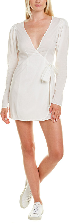 Weworewhat Blanca Wrap Dress