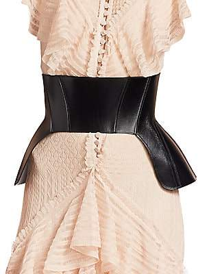 women s leather corset