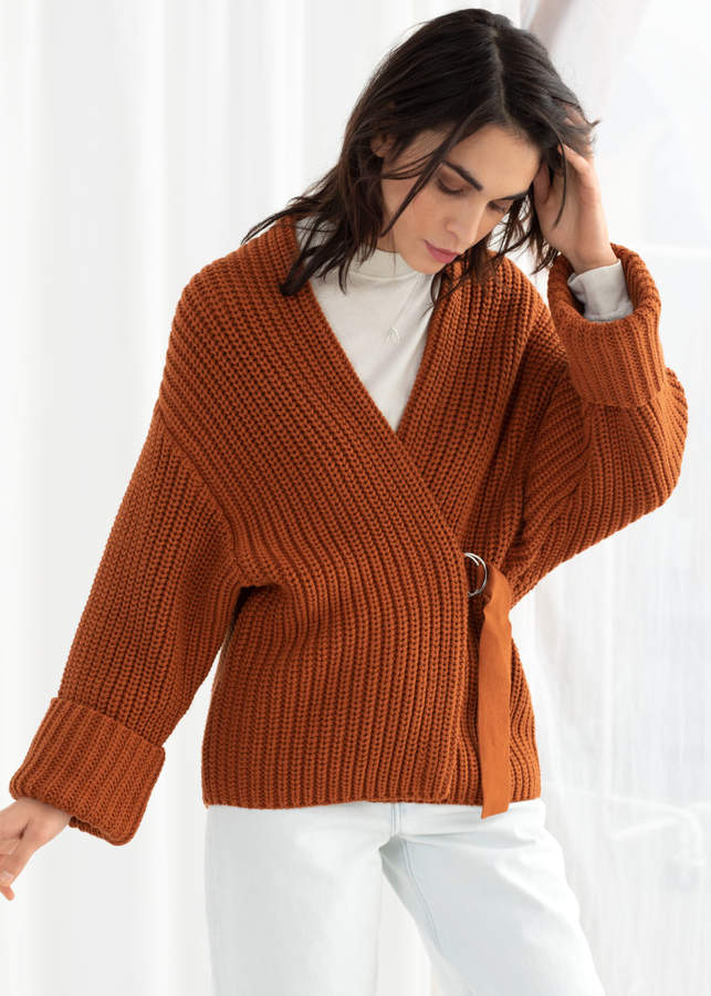 And other stories Belted Cardigan