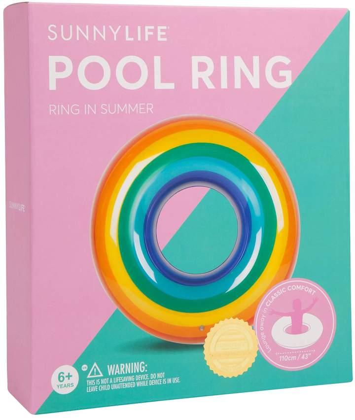 Sunnylife Rainbow Pool Ring