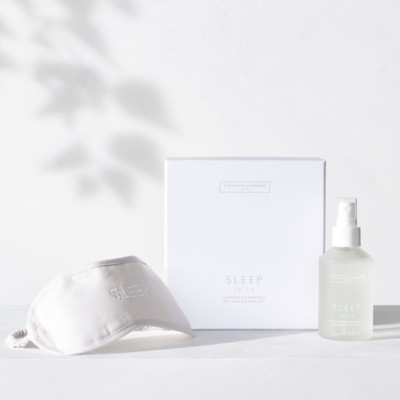 The White Company Sleep Mist & Eye Mask Gift Set, No Colour, One Size