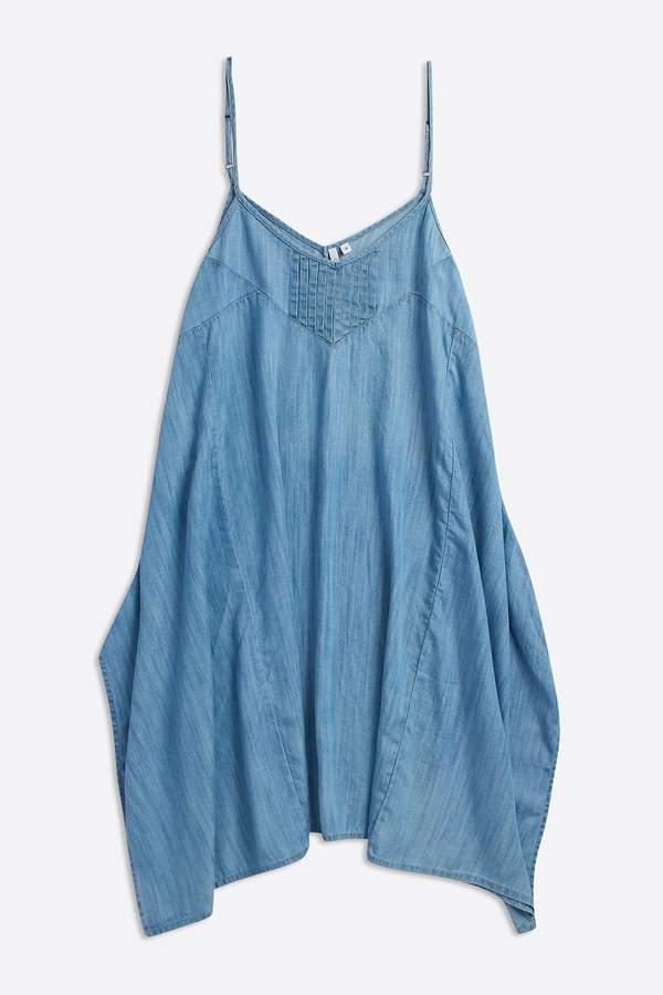 Womens Animal Blue Boho Betty Woven Dress