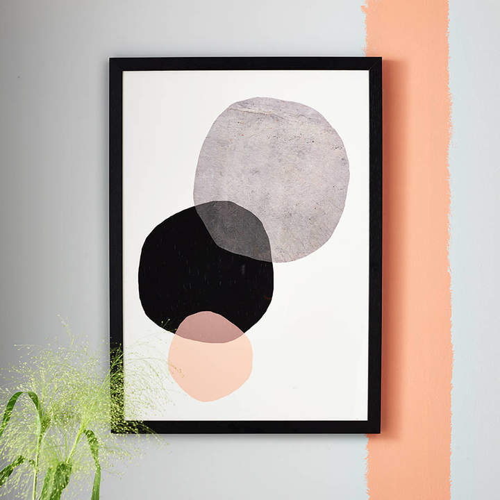 EAST END PRINTS Big Circles Minimalist Print