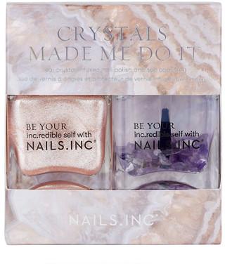 Nailsinc NAILSINC Crystals Made Me Do It Duo Nail Polish 2 x 14ml