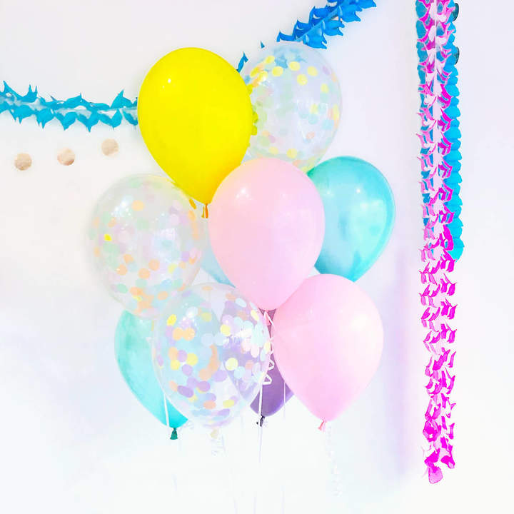 Peach Blossom Pastel Daze Party Balloon Collection