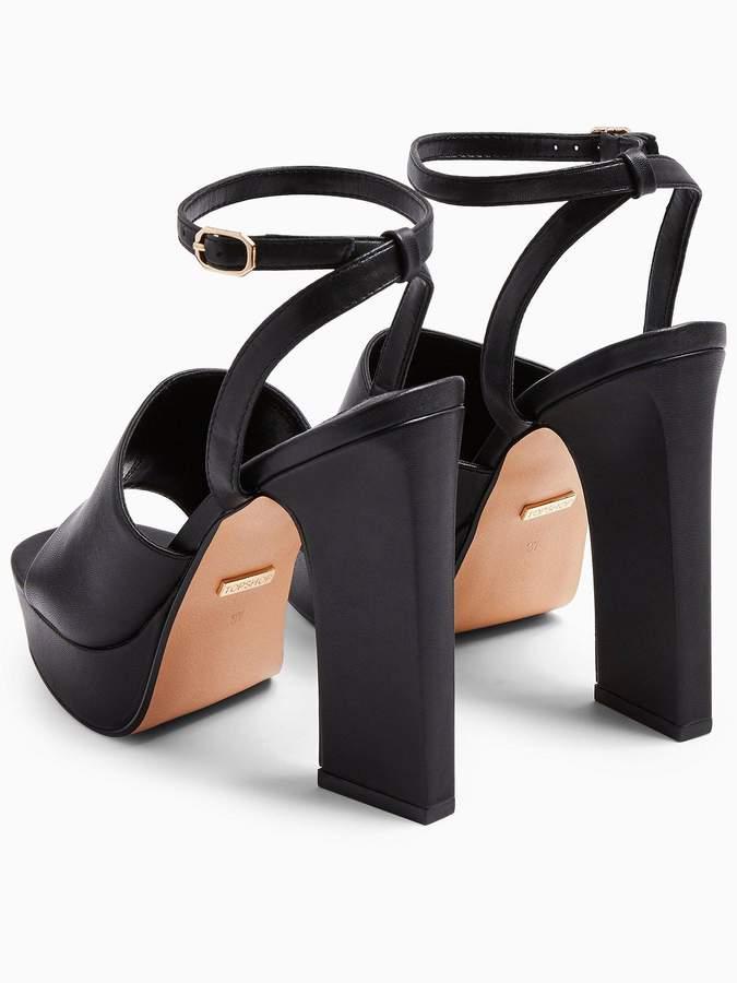 Topshop Rafa Chunky Platform Sandals