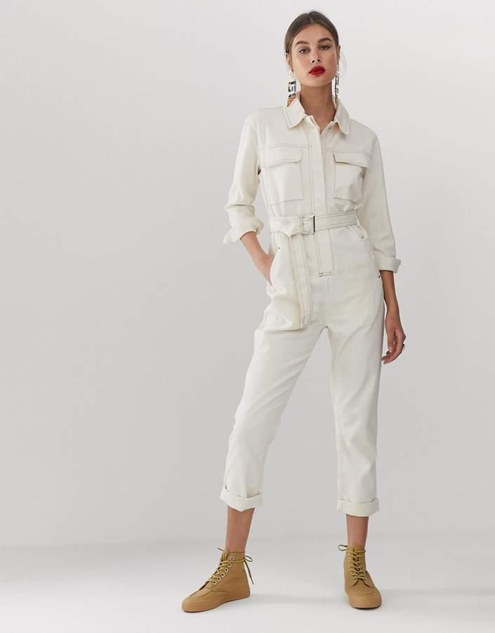 Asos White ASOS WHITE utility jumpsuit