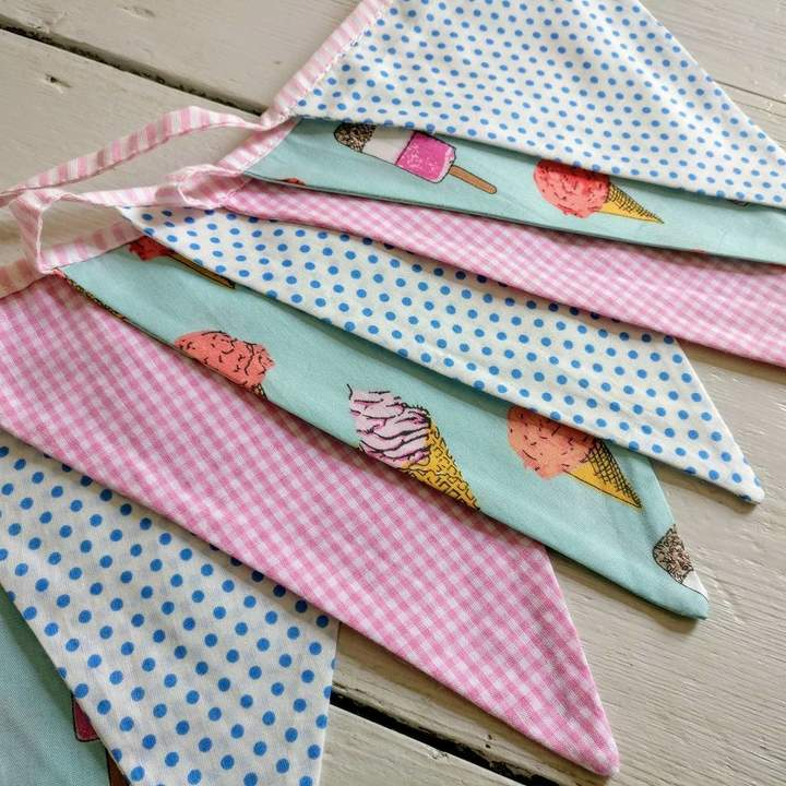 The Fairground Ice Cream Party Bunting