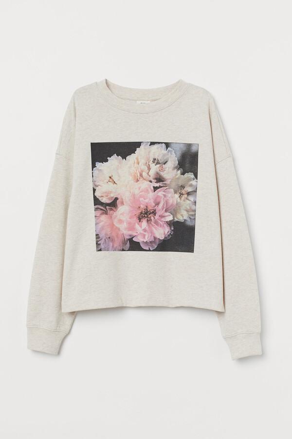 H&M Cotton-blend sweatshirt