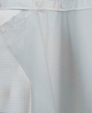 peva snap 70 x 69 shower curtain liner bedding