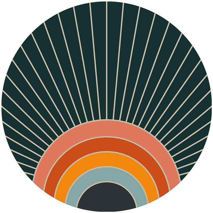 Podevache PODEVACHE - Rainbow Round Placemat