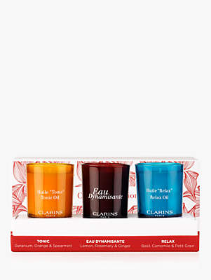 Clarins Mini Scented Candle Trio Gift Set