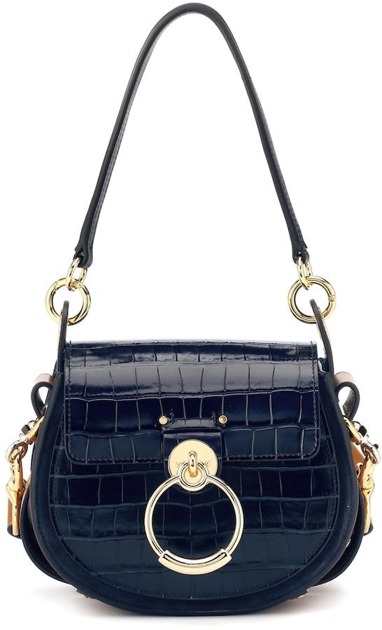Chloã© Tess Small leather shoulder bag