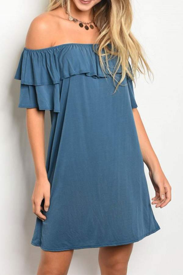 Emetla Ruffle Dress